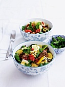 Pappardelle pasta with lamb and chilli peppers