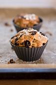 Christmas fruitcake muffins