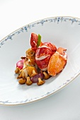 Lobster with chanterelles