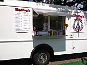 Lastwagen mit Street Food in Portland, Oregon