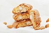 Biscotti (Italian almond biscuits)