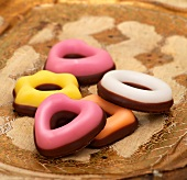 Confectionery fondant (sugar cookies)