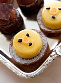 Passion fruit petit fours