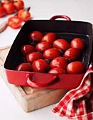 Tomaten in Reine anbraten