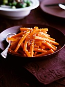 Carrot medley with sesame seeds