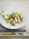 Kedgeree (smoked fish with rice and egg, England)