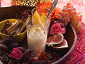 Arabic rice pudding