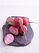 Beetroot on a stone