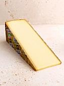 A slice of Gruyere