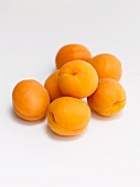 Several apricots