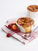 Eve's pudding (English berry pudding)