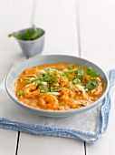 Laksa with prawns and noodles (Asia)