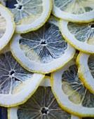 Thin lemon slices