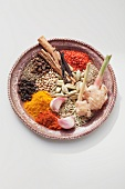 Spices for oriental minced meat