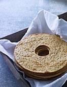 Scandinavian crisp bread