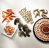 Assortment of Shrimp