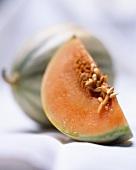 Fresh galia melon