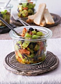Caponata (pickled vegetables, Sicily, Italy)