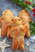 Grittibanz (Swiss bread people)