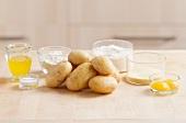 Ingredients for potato gnocchi