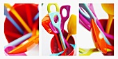 Colourful spoons