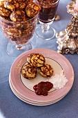 Aebleskiveer - Danish pancake speciality