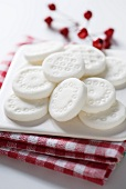 Homemade peppermint creams