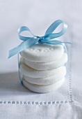 Homemade peppermint creams as a gift