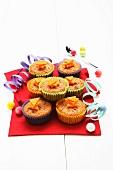 Italian carrot muffins