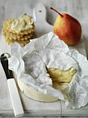Tunworth soft cheese from England