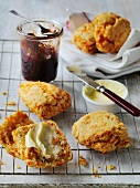 English cheese scones