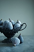 Whole Frozen Figs in Decorative Bowl