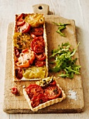 Crostata al pomodoro (Italian tomato tart)