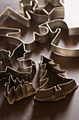 Various cookie cutters