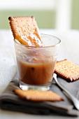 Biscuits with chestnut cream
