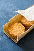 Palet bretons (French biscuits)