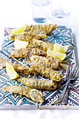 Baked fish with chermoula