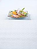 Shrimp salad from Thailand
