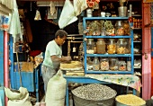 A grocer's shop in Mexico