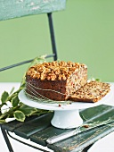 Christmas cake with walnuts (English)