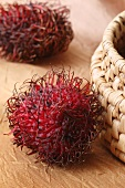Two rambutans