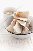 Celeraic in a salt crust