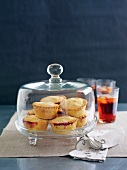 Apple and cherry pies