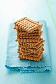 A stack of biscuits