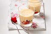 Zabaione with fresh berries