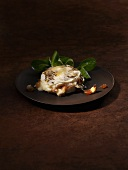 Baked goat cheese with dates