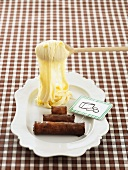 Aligot (cheese-potato puree, France)