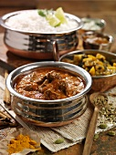 Lamb rogan josh (lamb curry, India)