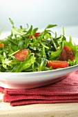 Rocket salad with tomatoes