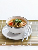 Laksa with scallops (Asia)